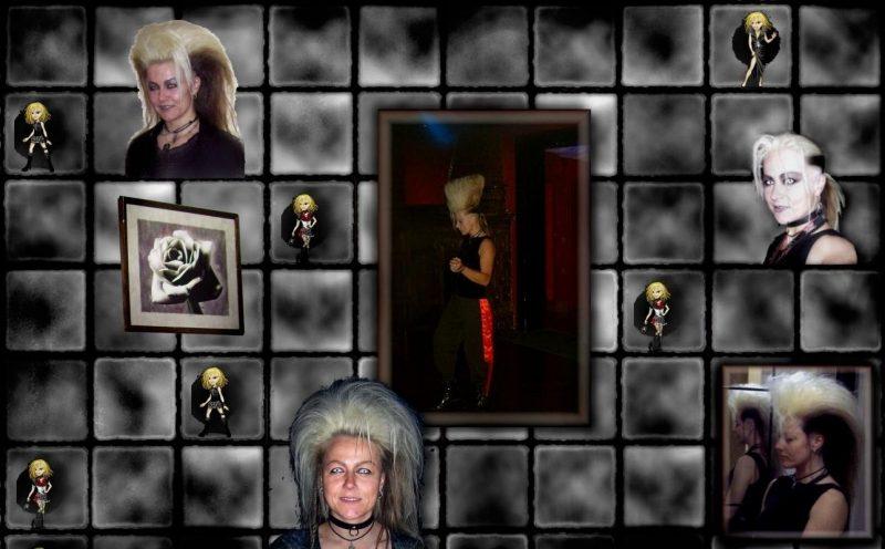 Angy mag gestylte Frisuren - DarkWave