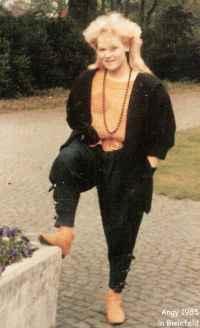 Angy in Bielefeld 1985