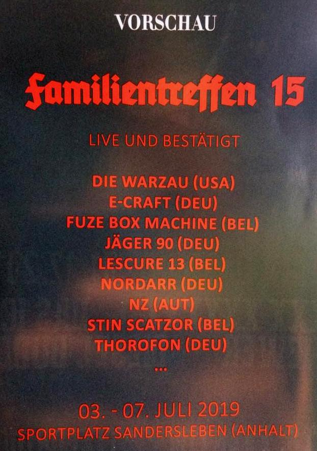 EBM - FAMILIENTREFFEN - XV - 2019